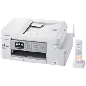 ブラザー工業 A4インクジェット複合機/FAX/ADF/デジタル子機1台/有線・無線LAN/多目的トレイ/両面印刷 - 拡大画像