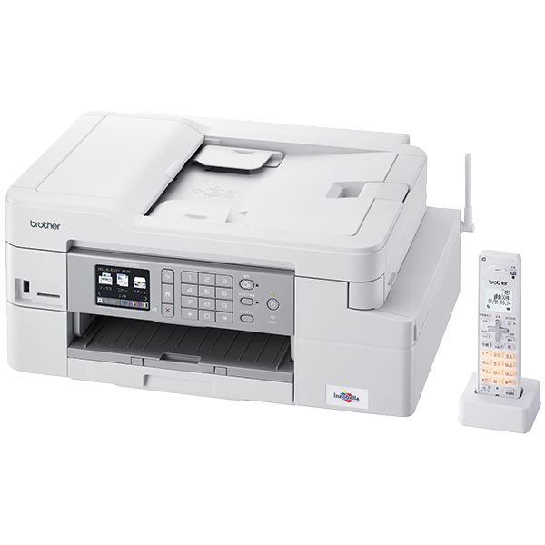 ブラザー工業 A4インクジェット複合機/FAX/ADF/デジタル子機1台/有線・無線LAN/多目的トレイ/両面印刷