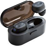 サンワサプライ Bluetooth完全ワイヤレスイヤホン(ブラック) MM-BTTWS001BK