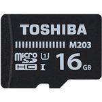 東芝 UHS-I対応 Class10 microSDHCメモリカード 16GB MU-J016GX