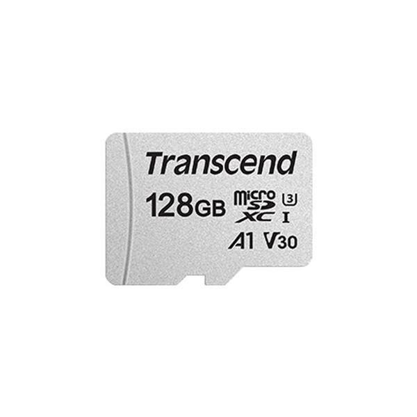 トランセンドジャパン 128GB UHS-I U3 A1 microSDXC Card w/o Adapter(TLC) TS128GUSD300S