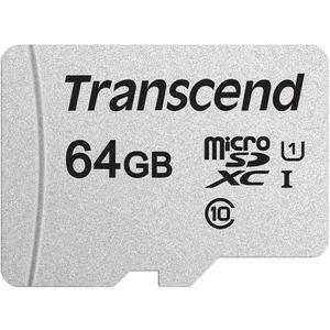 トランセンドジャパン 64GB UHS-I U1 microSDXC Card w/o Adapter (TLC) TS64GUSD300S - 拡大画像