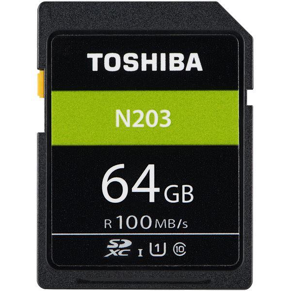 東芝 UHS-I対応 Class10 SDXCメモリカード 64GB SD-LU064G