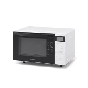 アイリスオーヤマ オーブンレンジ 18L ホワイト MO-F1807-W - 拡大画像