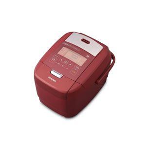 アイリスオーヤマ 米屋の旨み 銘柄炊き IHジャー炊飯器 3合 レッド RC-IH30-R - 拡大画像
