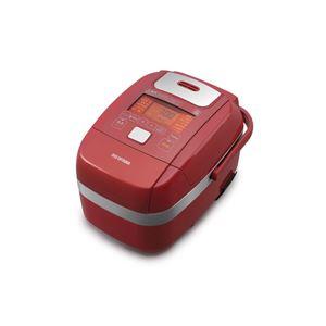 アイリスオーヤマ 米屋の旨み 銘柄炊き 圧力IHジャー炊飯器 3合 レッド RC-PH30-R - 拡大画像