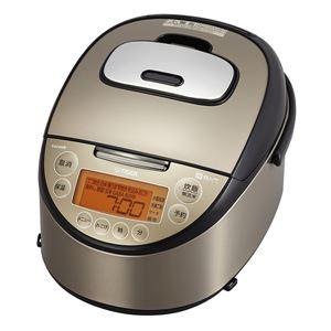 タイガー魔法瓶 IH炊飯器  炊きたて  「tacook」 5.5合 パールブラウン JKT-L100TP - 拡大画像
