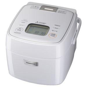 三菱電機 IHジャー炊飯器 備長炭 炭炊釜 小容量 ピュアホワイト NJ-SEA06-W - 拡大画像