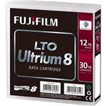 富士フイルム LTO Ultrium8 データカートリッジ 12.0/30.0TB LTO FB UL-8 12.0T J