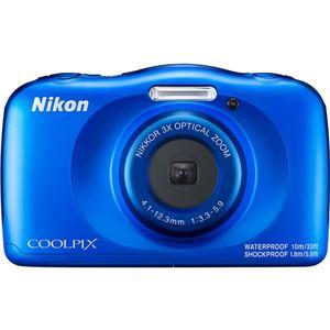 ニコン デジタルカメラ COOLPIX W150 ブルー COOLPIXW150BL - 拡大画像