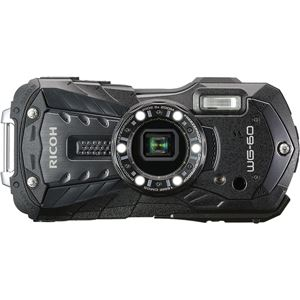 リコーイメージング 防水デジタルカメラ WG-60 (ブラック) WG-60BK - 拡大画像