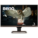 ベンキュー 27インチ4K高画質&高音質モニター(27インチ/4K/IPS/HDRi/sRGB99%カバー/treVOLO高品質スピーカー/HDMI/DP/USB-C/60W給電) EW2780U