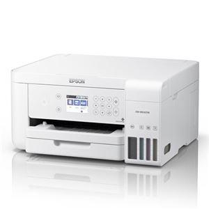 エプソン A4カラーインクジェット複合機/エコタンク搭載モデル/4色/有線・無線LAN/Wi-FiDirect/両面/2.4型液晶/ホワイト EW-M630TW - 拡大画像