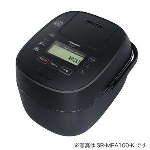 パナソニック(家電) 可変圧力IHジャー炊飯器 1.8L (ブラック) SR-MPA180-K - 拡大画像
