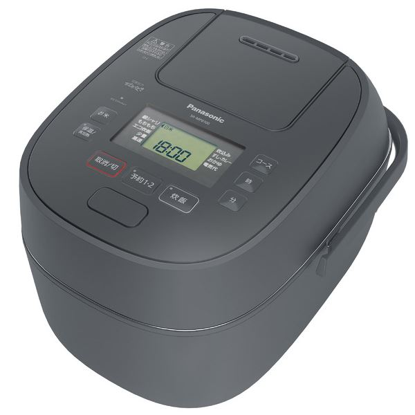 パナソニック(家電) 可変圧力IHジャー炊飯器 1.0L (グレー) SR-MPB100-H