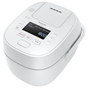 パナソニック(家電) 可変圧力IHジャー炊飯器 1.0L (ホワイト) SR-MPW100-W - 拡大画像