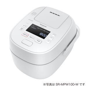 パナソニック(家電) 可変圧力IHジャー炊飯器 1.8L (ホワイト) SR-MPW180-W - 拡大画像