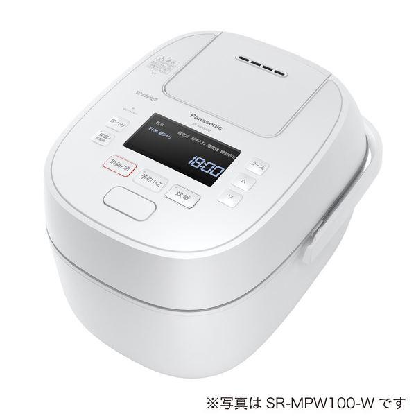パナソニック(家電) 可変圧力IHジャー炊飯器 1.8L (ホワイト) SR-MPW180-W
