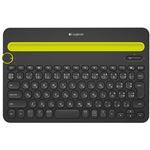 ロジクール Bluetooth マルチデバイスキーボード ブラック K480BK