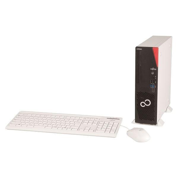 FUJITSU D7010/FX (Core i5-10500/8GB/SSD256GB/Sマルチ/Win10Pro 64bit/Office Home & Business 2019) FMVD5001FP