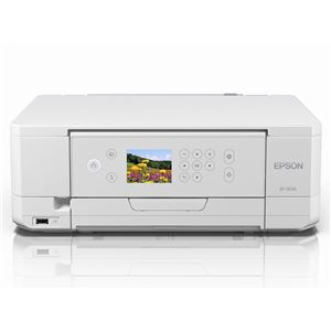 エプソン A4カラーインクジェット複合機/Colorio/6色/無線LAN/Wi-FiDirect/両面/2.7型液晶 EP-813A - 拡大画像
