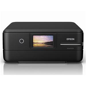 エプソン A4カラーインクジェット複合機/エコタンク搭載モデル/5色/無線LAN/Wi-FiDirect/両面/4.3型ワイドタッチパネル/ブラック EW-M752TB - 拡大画像