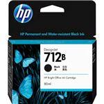 HP712Bインクカートリッジ ブラック 80ml 3ED29A