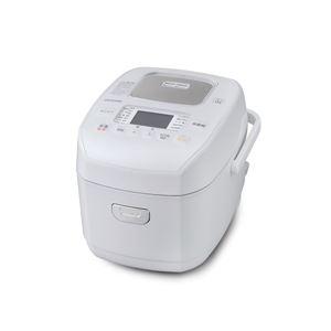 アイリスオーヤマ 圧力IHジャー炊飯器 3合 ホワイト RC-PD30-W - 拡大画像