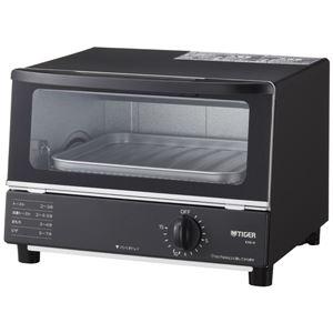 タイガー魔法瓶 オーブントースター やきたて ブラック KAK-H100K - 拡大画像