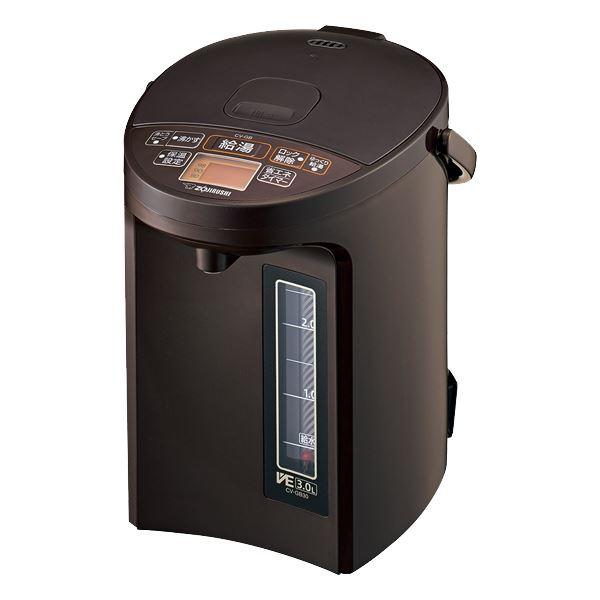 象印マホービン 3.0L マイコン沸とうVE電気まほうびん ブラウン CV-GB30 TA