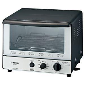象印マホービン 温度調節&上下グリル オーブントースター モノトーン EQ-SA22 BW - 拡大画像