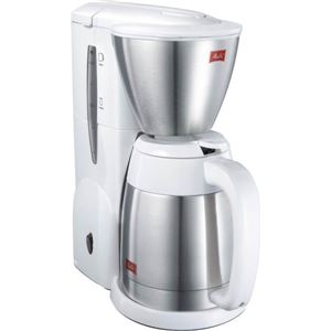 メリタジャパン ステンレスポット コーヒーメーカー 【ノア】 ホワイト SKT54-3-W - 拡大画像