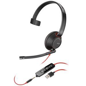 PLANTRONICS USBヘッドセット Blackwire C5210 USB-A 207577-201 PPBKW-5210UA - 拡大画像