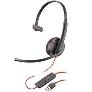 PLANTRONICS USBヘッドセット Blackwire C3210 USB-A 209744-201 PPBKW-C3210UA - 拡大画像