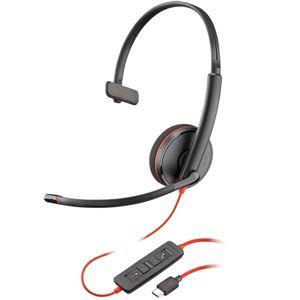 PLANTRONICS USBヘッドセット Blackwire C3210 USB-C 209748-201 PPBKW-C3210UC - 拡大画像