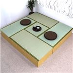 ユニット畳 収納 置き畳 高床式ユニット畳 和家具 1畳タイプ 4本+半畳タイプ 1本 セット 畳収納 い草 イ草 日本製 国産 ナチュラル ロータイプ
