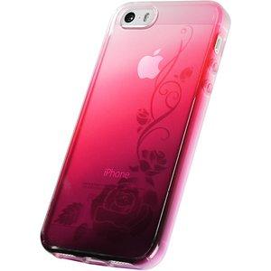 iPhone5/5S用TPUソフトケース 染ART - 拡大画像