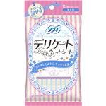 (まとめ買い)ソフィ デリケートウェット 流せるタイプ 無香料 6枚入×2個×30セット