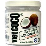 (まとめ買い)VIET COCO バージンココナッツオイル 500ml×4セット