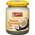 (まとめ買い)アヤム バージンココナッツオイル プレミアム 220ml×4セット