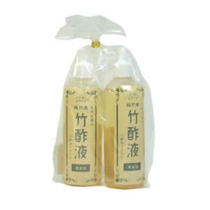 (お徳用 3セット) 竹酢蒸留液ペアセット ×3セット - 拡大画像