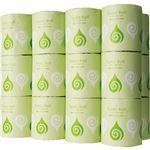 TANOSEE トイレットペーパー 水に流せる芯&包装紙 シングル 130m 1ケース(24ロール)