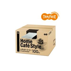 TANOSEE Home Cafe Style ドリップパック 6.5g 100袋入 - 拡大画像
