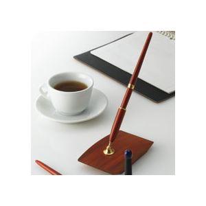 オート 木製デスクペン (黒インク) DP-1000RW 1本 - 拡大画像