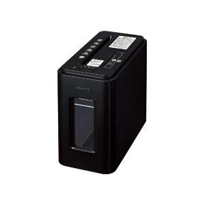コクヨ デスクサイドマルチシュレッダー(Silent-Duo) A4 クロスカット アーバンブラック KPS-MX100D 1台 - 拡大画像
