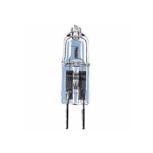 (まとめ)12V用ミニハロゲン電球 J12V50WAS 50W 10個入 - 拡大画像