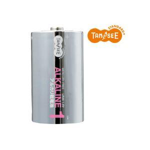 (まとめ)TANOSEE 単1形 アルカリ乾電池 2本入×50パック - 拡大画像
