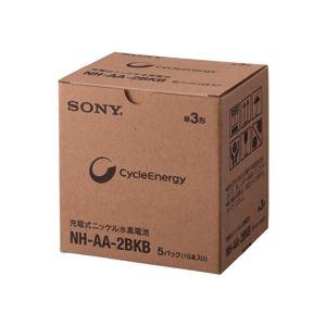 (まとめ)充電式ニッケル水素充電池 サイクルエナジーゴールド 単3形2本入×5パック - 拡大画像
