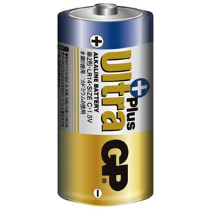(まとめ)UltraPlus アルカリ電池 単2形 2本×4パック - 拡大画像