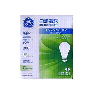 (まとめ)白熱電球 100W形 2個入×12パック - 拡大画像